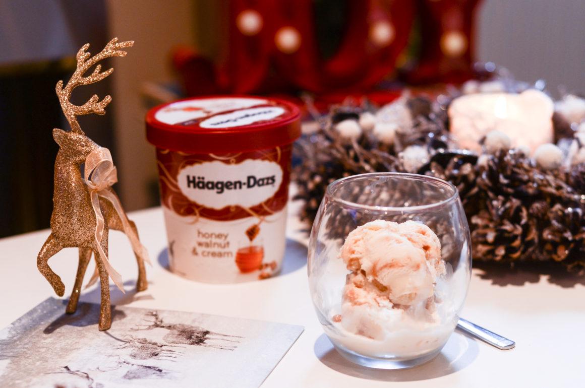 Haagen-Dazs Honey, Walnut & Cream